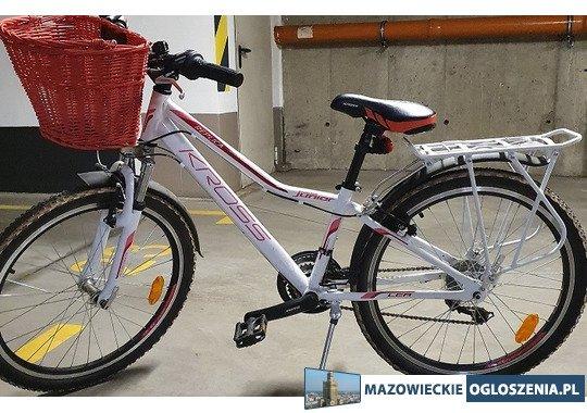 """Rower dla dziewczynki Kros LR Junior 24"""""""