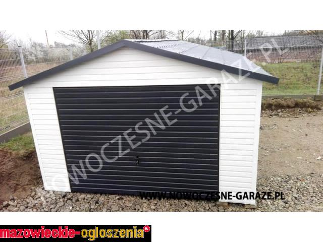 NOWOŚĆ garaże blaszane IMITACJA DREWNA dowolny wymiar