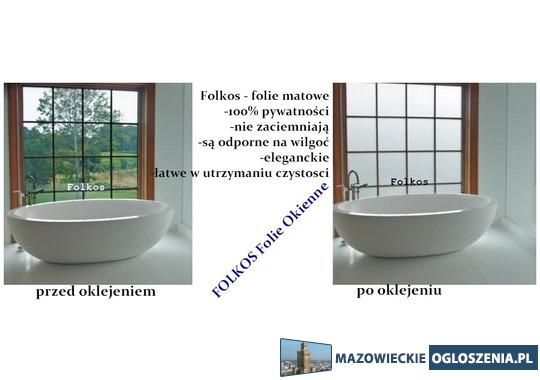 Oklejanie szyb Piaseczno- folie na okna, drzwi, przeszklenia....Folkos folie okienne